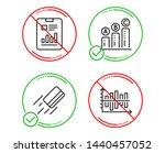 do or stop. report document ... | Shutterstock .eps vector #1440457052
