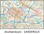 minneapolis  minnesota downtown ...   Shutterstock .eps vector #144049615