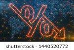 conceptual 3d illustration... | Shutterstock . vector #1440520772
