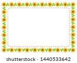 Sunflower Pattern Frame ...