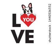 Cute Love Puppy Dog Vector Art