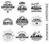 outdoor label  emblem  badge...   Shutterstock .eps vector #1440554462