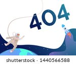 error four hundred and four and ... | Shutterstock .eps vector #1440566588