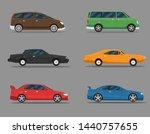 transport design over white... | Shutterstock .eps vector #1440757655