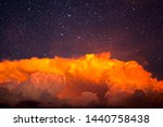 backgrounds night sky with... | Shutterstock . vector #1440758438