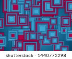 blue and purple squares... | Shutterstock .eps vector #1440772298
