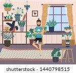 hobby of character vector  man...   Shutterstock .eps vector #1440798515