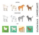 vector design of breeding and... | Shutterstock .eps vector #1440816605