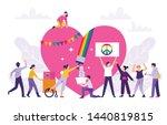 pride festival concept  the... | Shutterstock .eps vector #1440819815