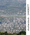 Aerial view of Caracas - stock photo
