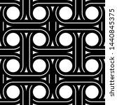 design seamless interlaced... | Shutterstock .eps vector #1440845375