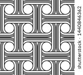 design seamless interlaced... | Shutterstock .eps vector #1440846362