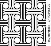 design seamless interlaced... | Shutterstock .eps vector #1440846602