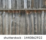old gray wood background....   Shutterstock . vector #1440862922