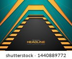 abstract bright corporate tech... | Shutterstock .eps vector #1440889772