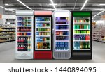 soda pop drinks and soft drinks ... | Shutterstock . vector #1440894095