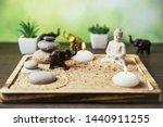 Miniature Desk Zen Sandbox Wit...