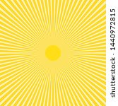abstract yellow sun rays vector ... | Shutterstock .eps vector #1440972815