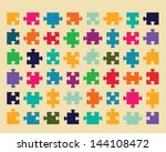illustration of colorful shiny... | Shutterstock .eps vector #144108472