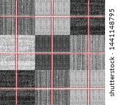 Seamless Checks Pattern On...