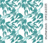 watercolor seamless pattern... | Shutterstock . vector #1441161035