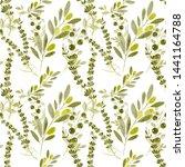 watercolor seamless pattern... | Shutterstock . vector #1441164788