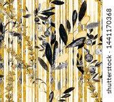 watercolor seamless pattern... | Shutterstock . vector #1441170368
