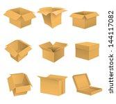 box set. vector | Shutterstock .eps vector #144117082