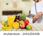beautiful body care caucasian... | Shutterstock . vector #1441202438