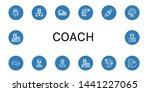 set of coach icons such as... | Shutterstock .eps vector #1441227065