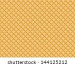 waffle pattern | Shutterstock .eps vector #144125212