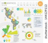detail infographic vector... | Shutterstock .eps vector #144129112