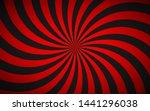 decorative retro red spiral... | Shutterstock .eps vector #1441296038