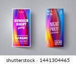 flyer or poster template layout ... | Shutterstock .eps vector #1441304465