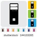 hardware cpu or desktop or... | Shutterstock .eps vector #144133285