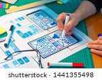 ux ui design. graphic designer...