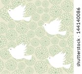 vector illustration. seamless... | Shutterstock .eps vector #144140086