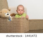 a very cute 8 9 months old baby ... | Shutterstock . vector #1441472