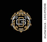 initial letter g and d  gd  dg  ... | Shutterstock .eps vector #1441493048