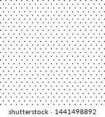 a fine dotted texture  black... | Shutterstock .eps vector #1441498892