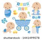 Baby Boy Vector Illustration....