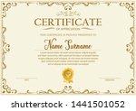 certificate. template diploma... | Shutterstock .eps vector #1441501052