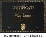 certificate of appreciation... | Shutterstock .eps vector #1441503668