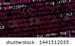 programming and numbers.... | Shutterstock . vector #1441512035
