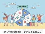 summer event concept... | Shutterstock .eps vector #1441513622