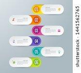 infographics design vector and...   Shutterstock .eps vector #1441562765