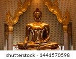 Golden Buddha In Wat Traimit...