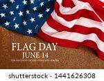 happy american flag day... | Shutterstock . vector #1441626308