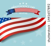 happy independence day card... | Shutterstock .eps vector #1441657892