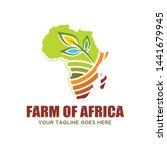 farm industry of africa logo ... | Shutterstock .eps vector #1441679945
